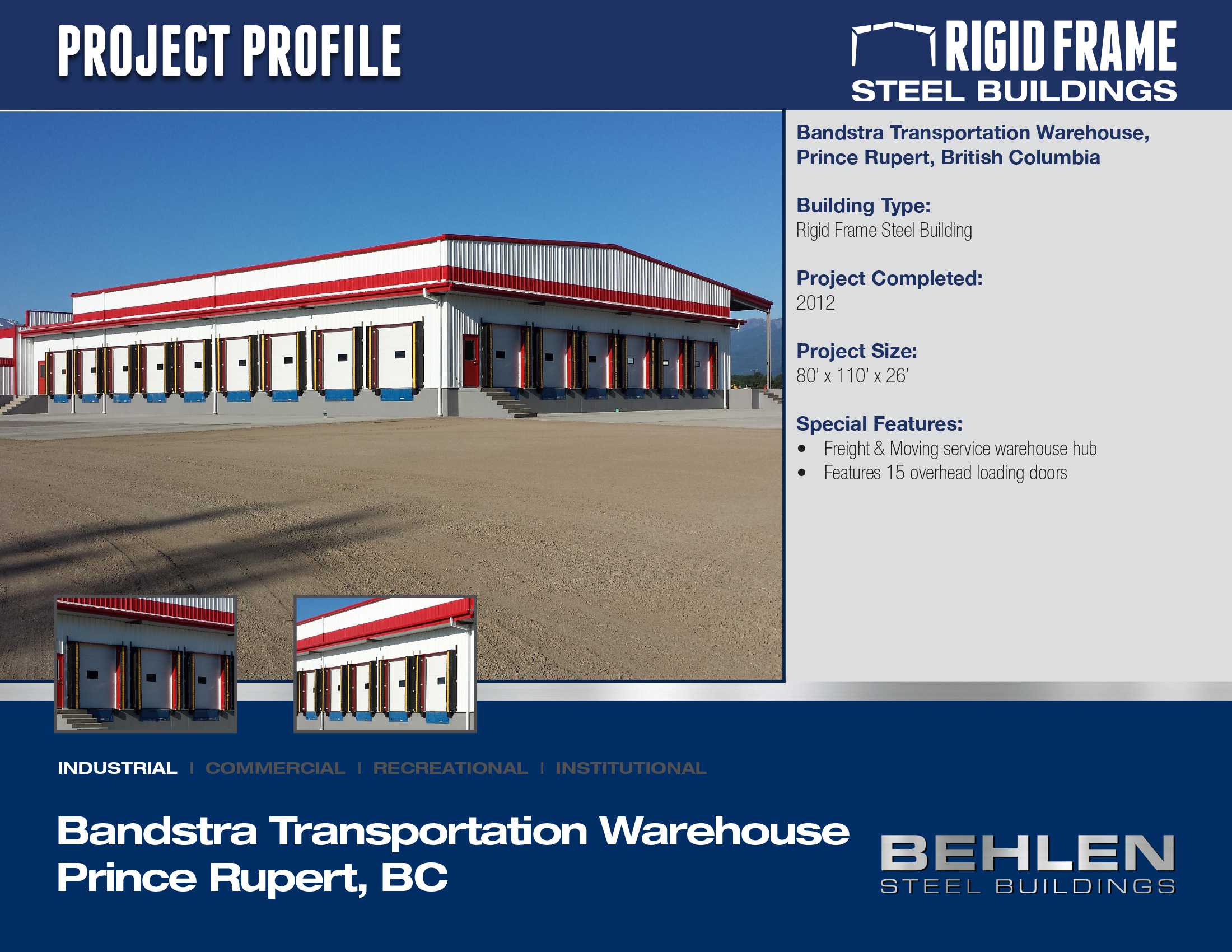 Bandstra Transportation Warehouse