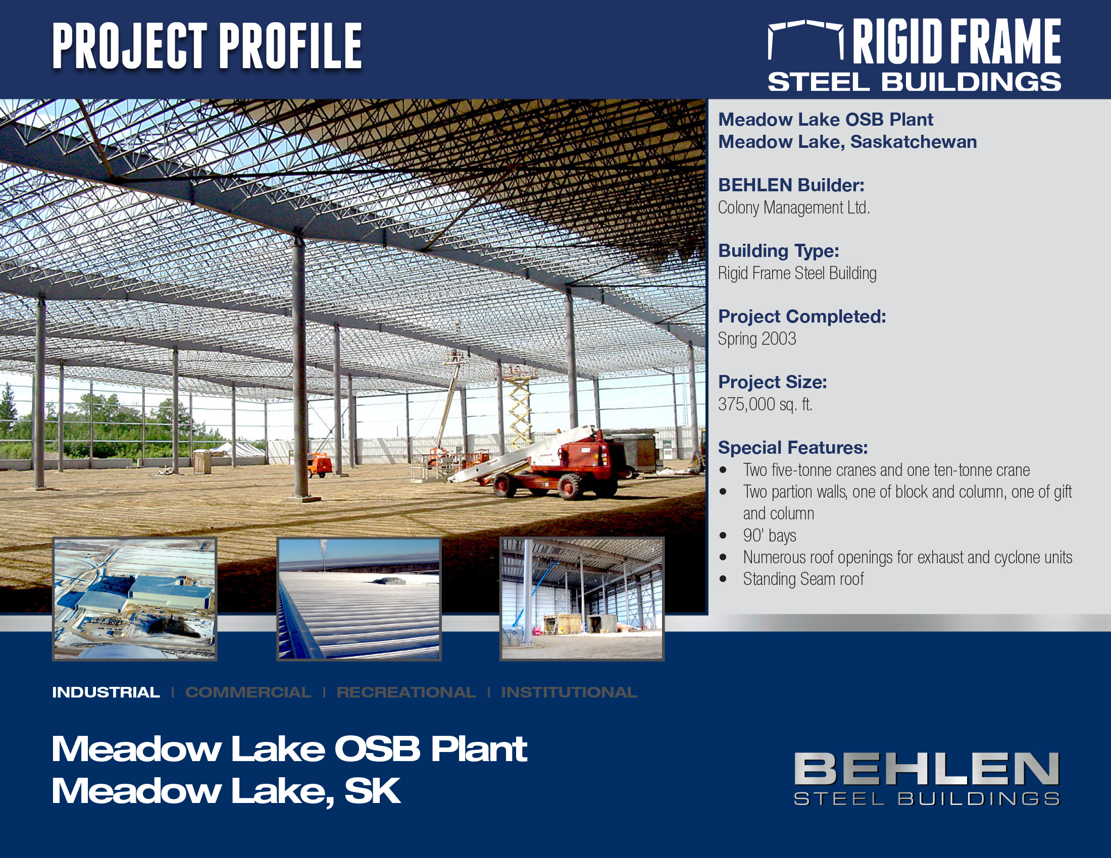 Meadow Lake OSB Plant