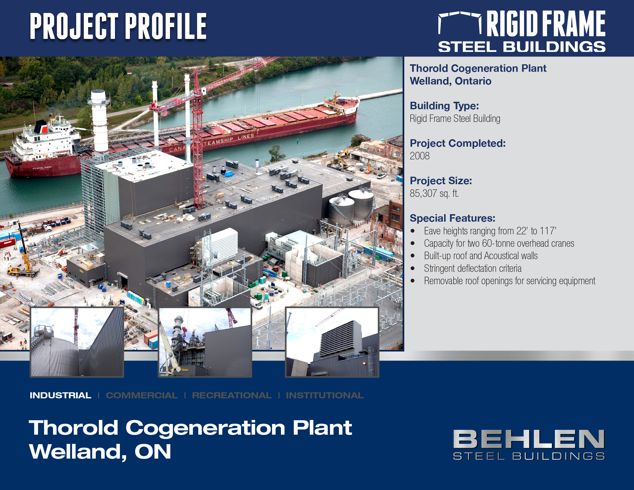 Thorold Cogeneration Plant