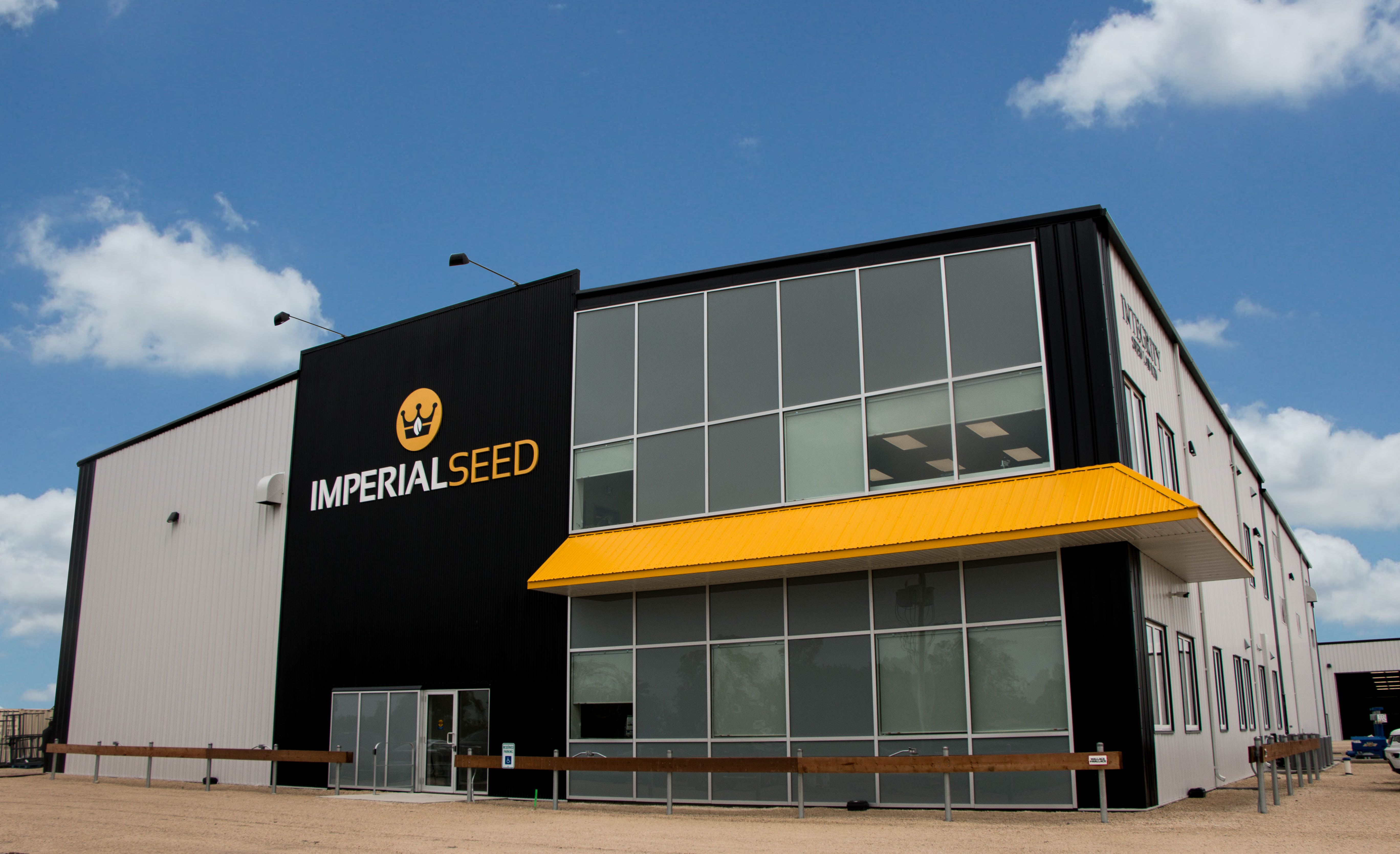 Imperial Seed Opens Doors on Brand New BEHLEN Steel Building Complex