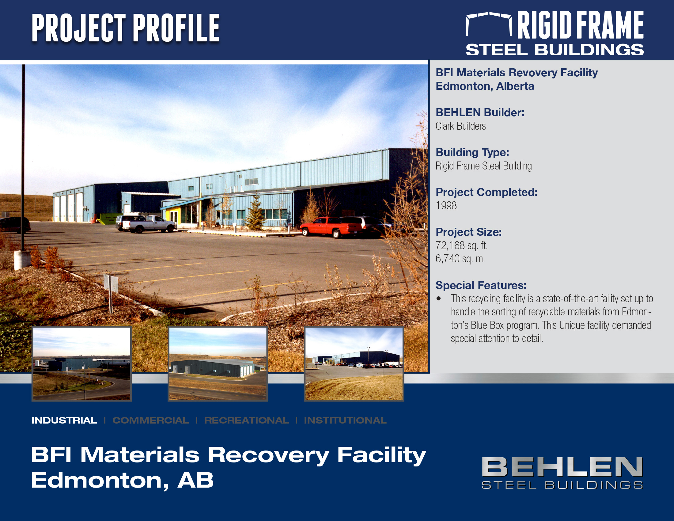 BFI Material Recovery Facility