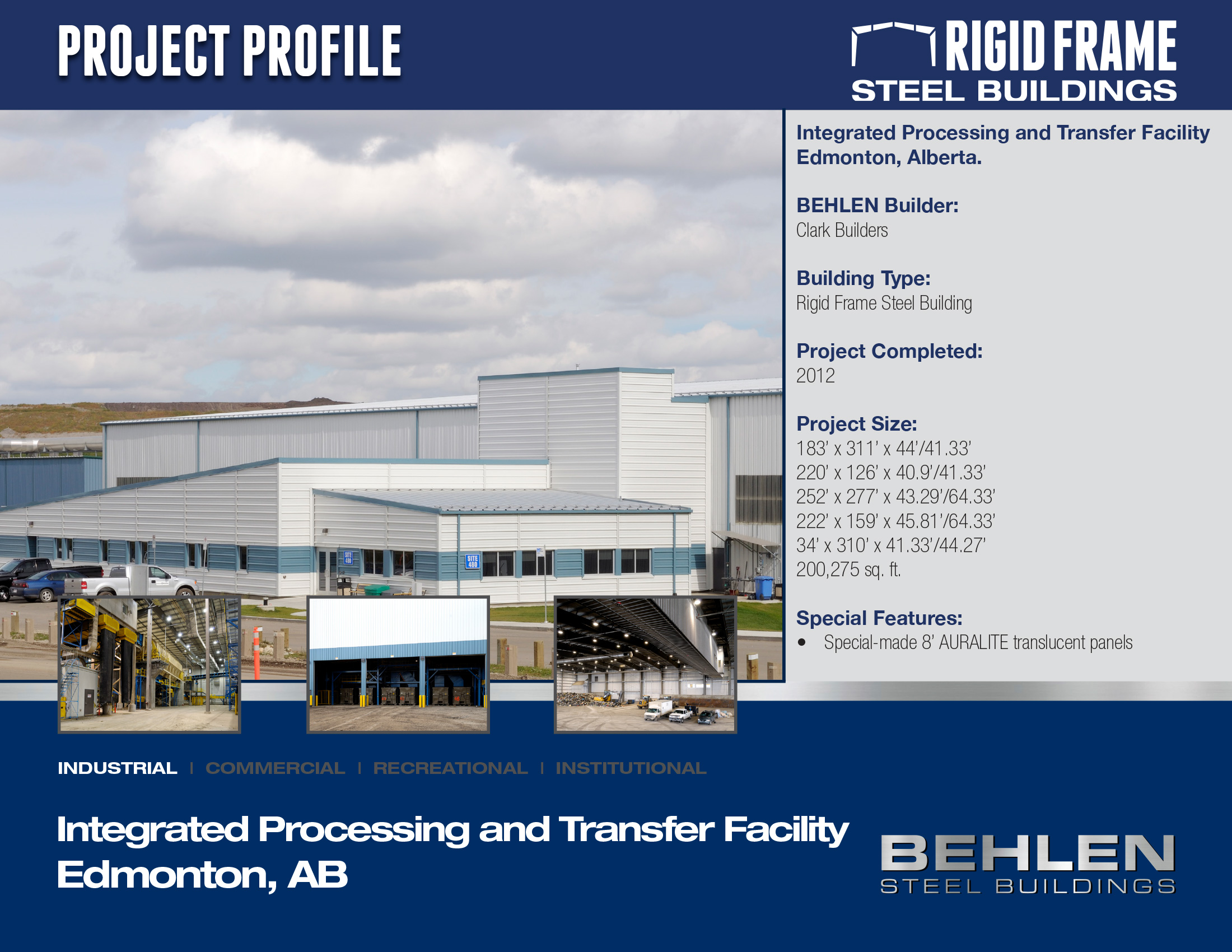 Integrated Processing and Transfer Facility