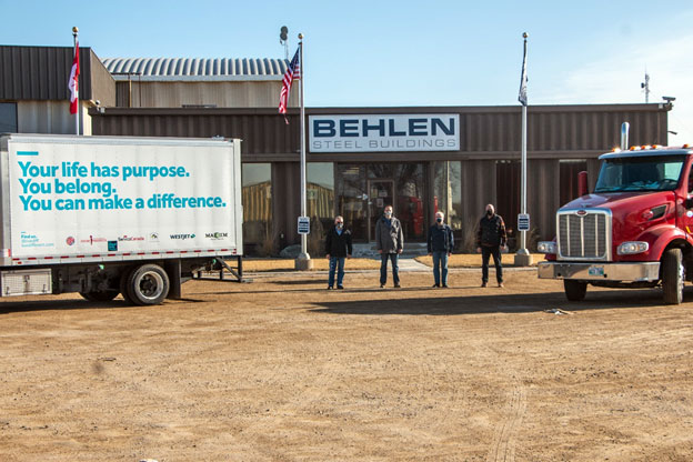BEHLEN Industries LP partners with Live Different for Haiti Donation